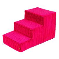 Malé schody pro psa - růžové