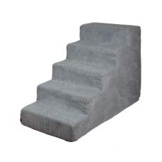 Velké schody pro psa Doti II - šedé